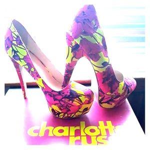 Charlotte russe neon heels